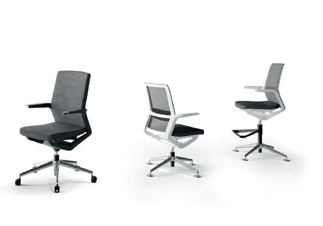 Modernūs darbo kambario baldai kėdės Advance