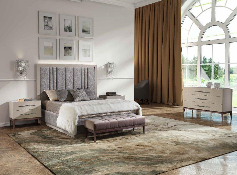 Modernūs miegamojo baldai Tiffany