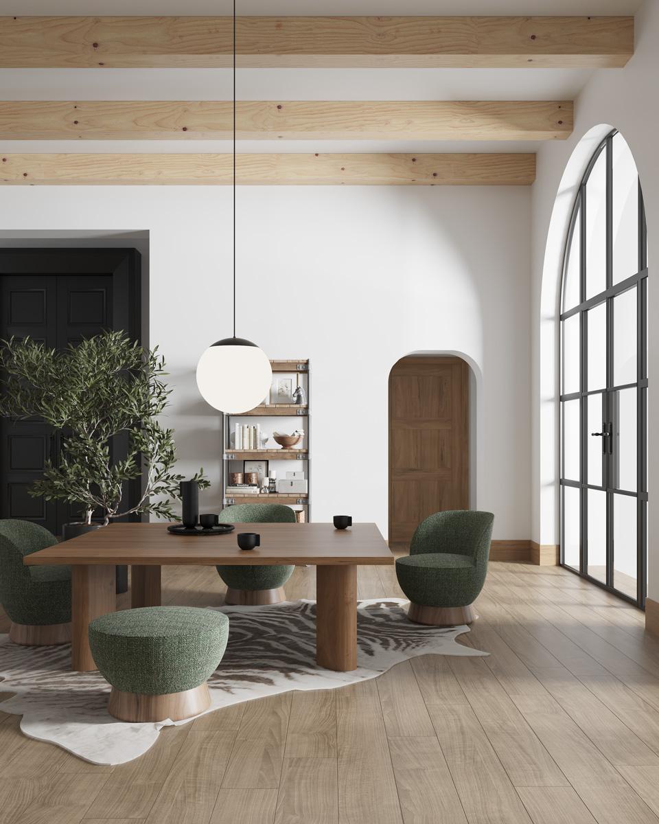 Modernūs minkšti svetainės baldai krėsliukai Phil