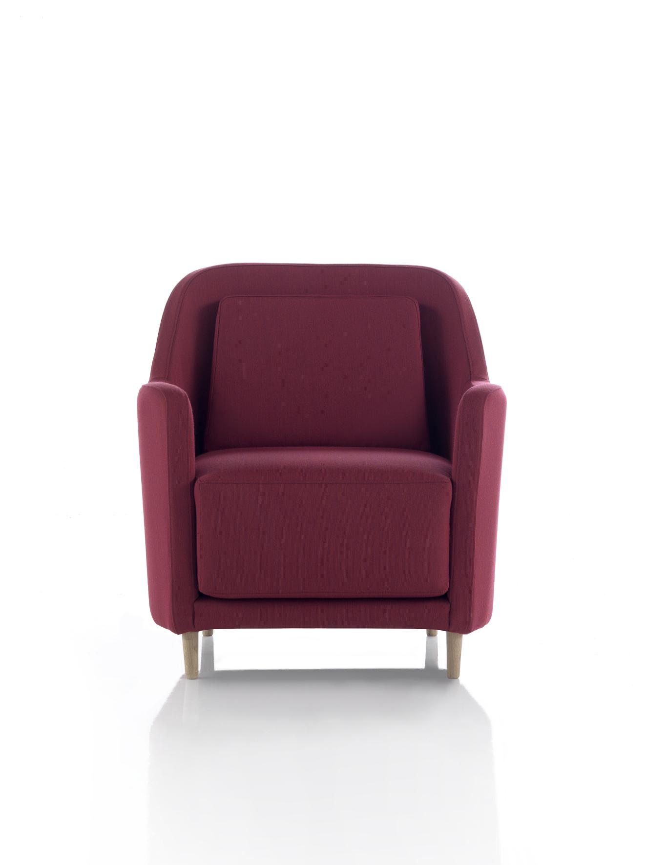 Modernūs minkšti svetainės baldai krėsliukas Audrey 8