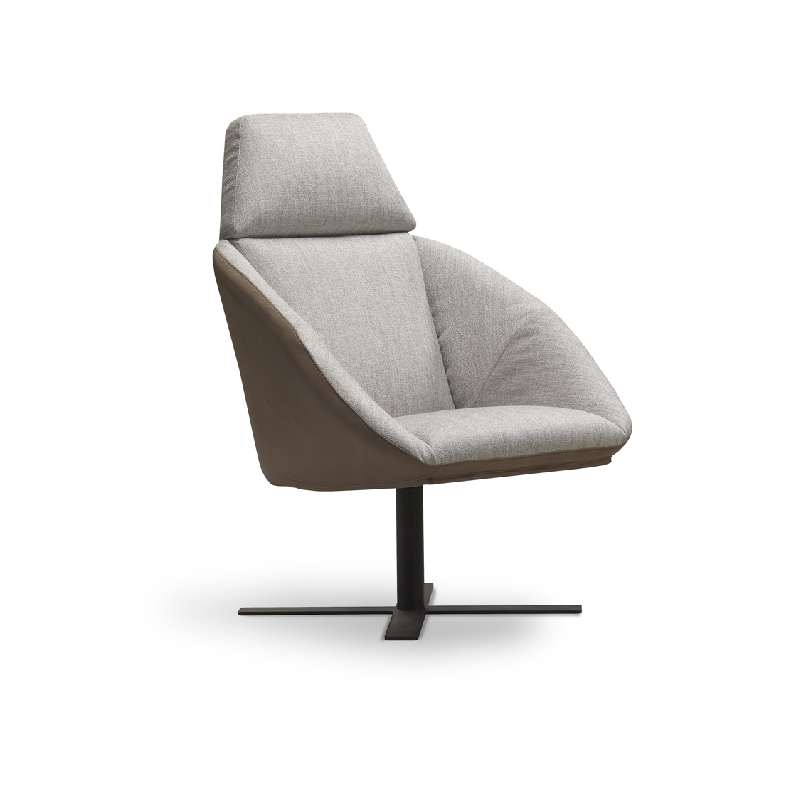 Modernūs minkšti svetainės baldai krėsliukas Caiman