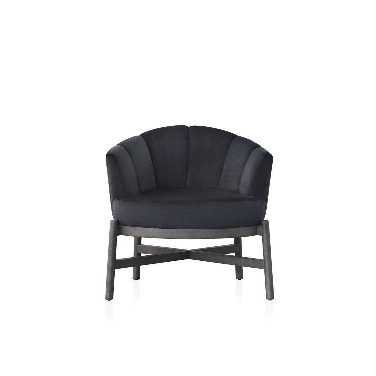 Modernūs minkšti svetainės baldai krėsliukas Flower 4