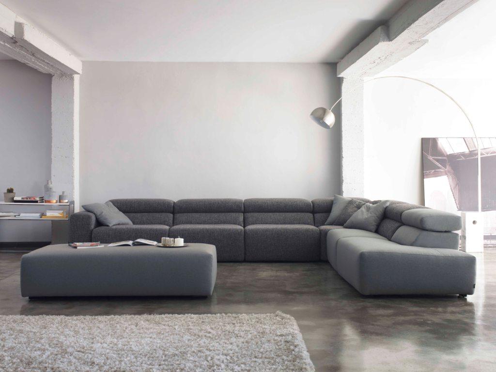 Modernūs minkšti svetainės baldai sofa Binari 2