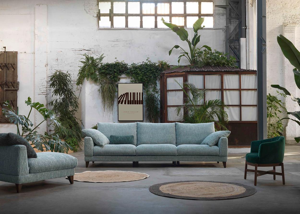 Modernūs minkšti svetainės baldai sofa Max