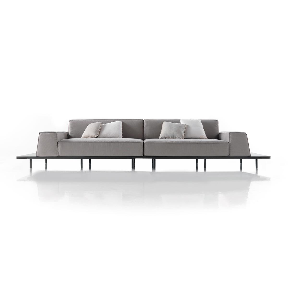Modernūs minkšti svetainės baldai sofa Mus 8