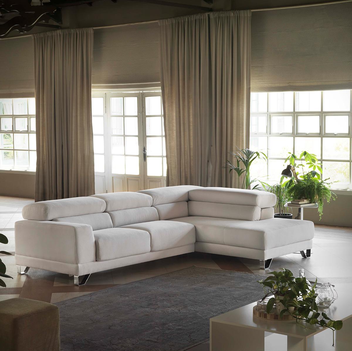 Modernūs minkšti svetainės baldai sofa Vico