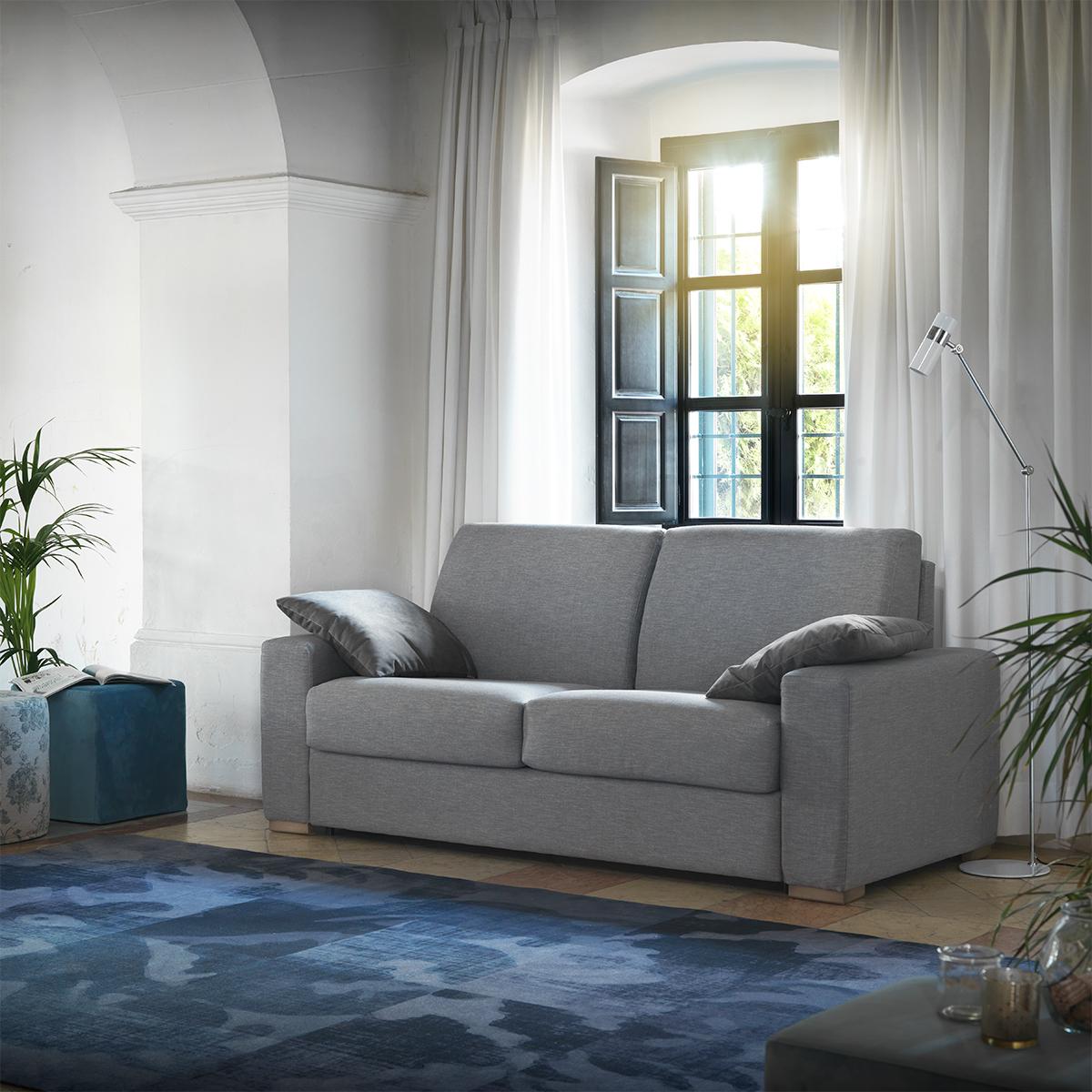 Modernūs minkšti svetainės baldai sofa lova Nix 1