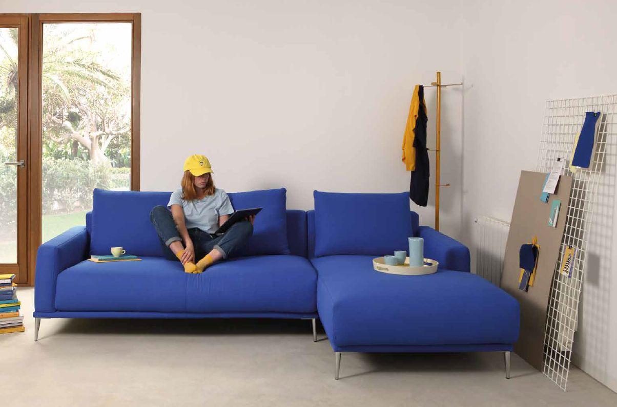 Modernūs minkšti svetainės baldai sofa Alfil