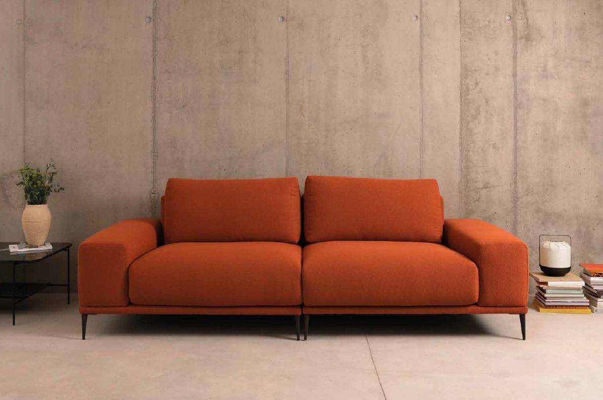 Modernūs minkšti svetainės baldai sofa Odil