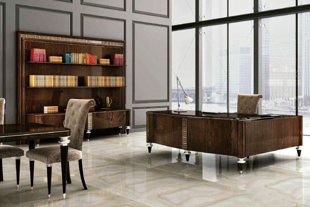 Modernios klasikos darbo kambario baldai Agora 2