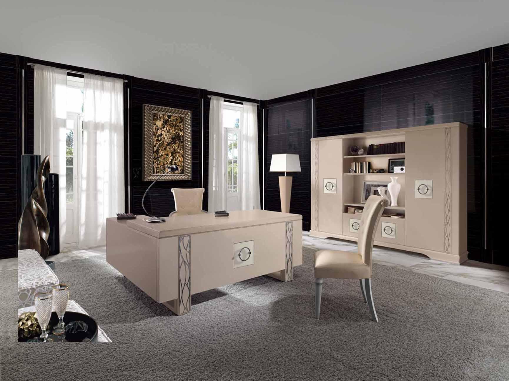 Modernios klasikos darbo kambario baldai Stravaganza 4