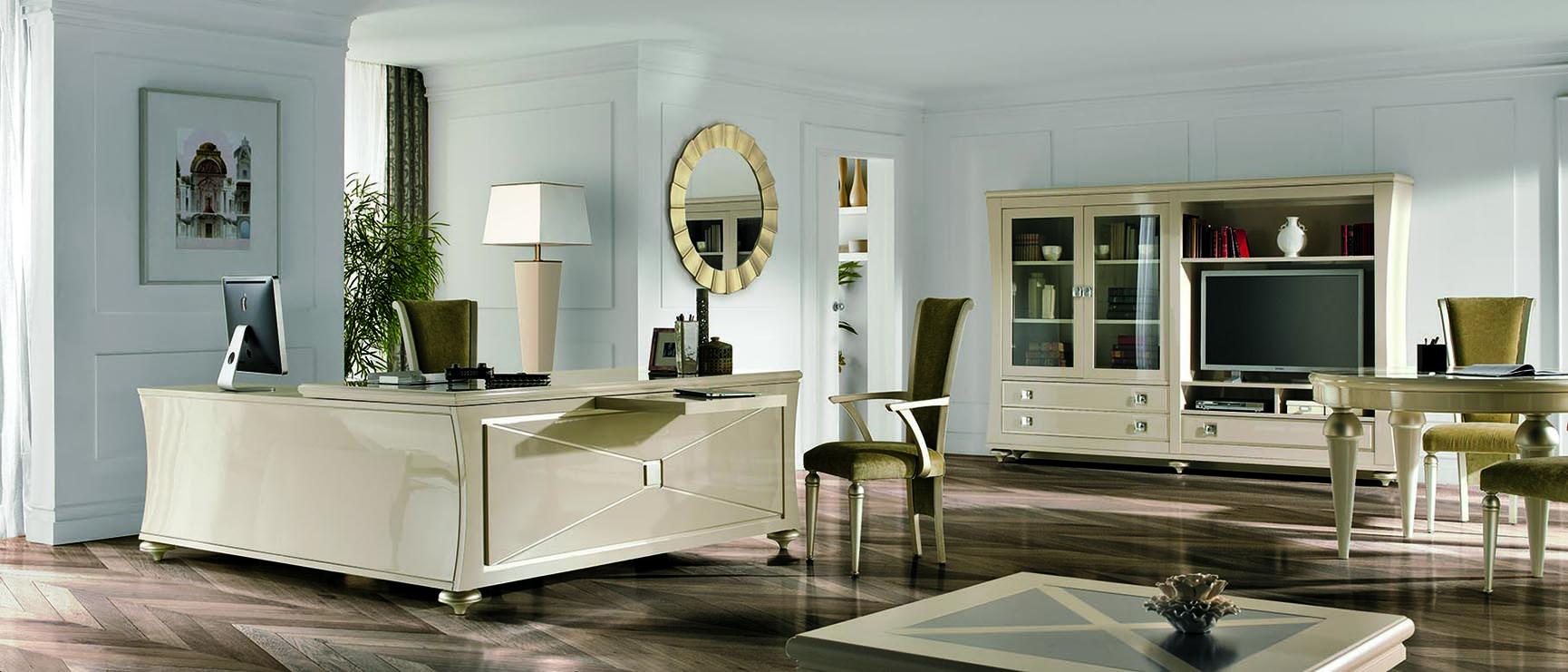 Modernios klasikos darbo kambario baldai Wonderland