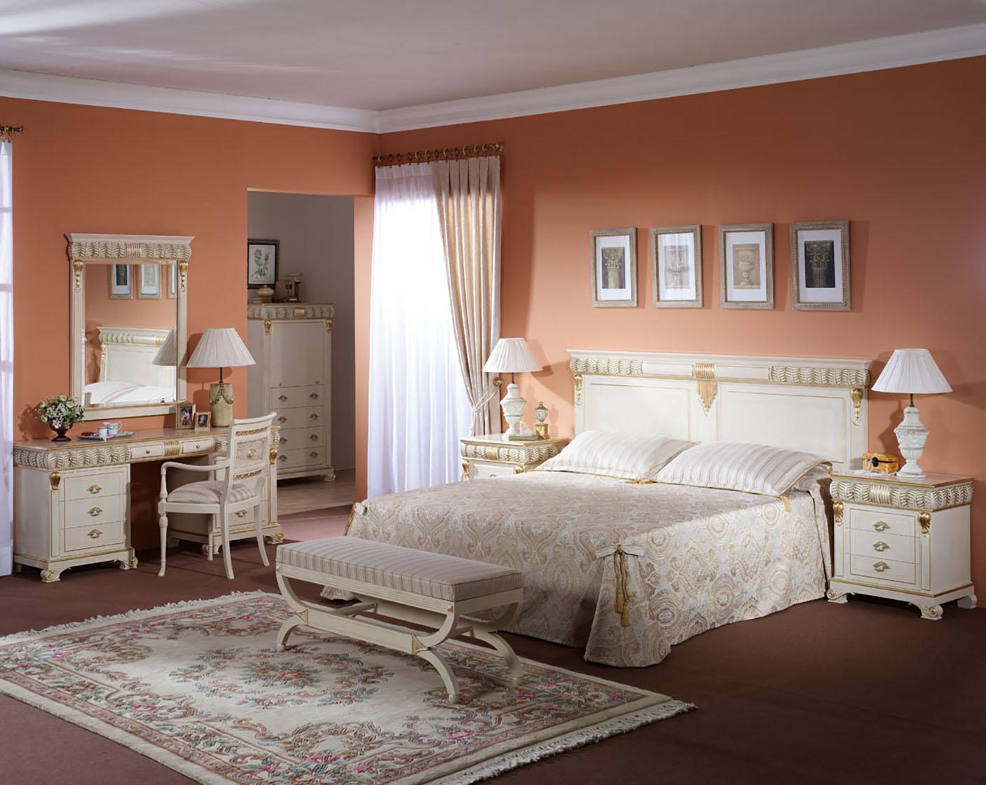 Klasikiniai miegamojo baldai Davinci 1