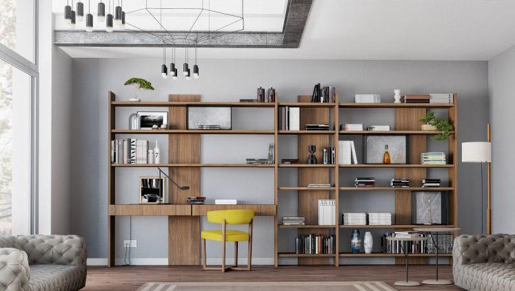 Modernūs darbo kambario baldai Conector C16