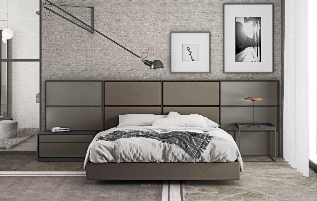 Modernūs miegamojo baldai Newpack