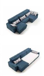 Modernūs minkšti svetainės baldai sofa Ares 7