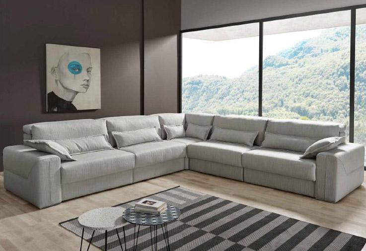 Modernūs minkšti svetainės baldai sofa Ares 8
