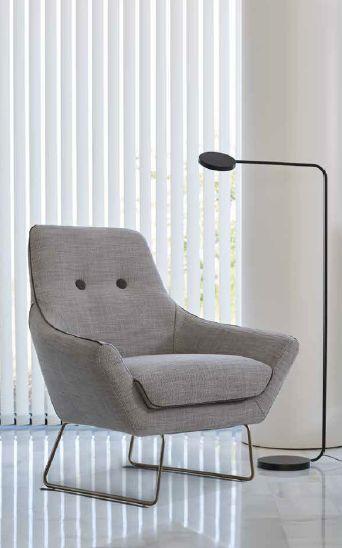 Modernus fotelis Button 1